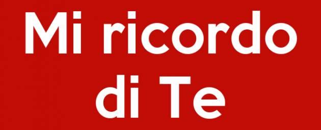 MI RICORDO ECCOME DI TE   VINCENZO ANDRAOUS (PAVIA)