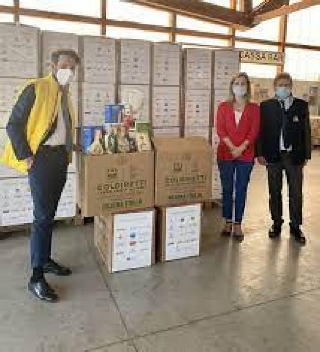 5.000 chilogrammi di cibo Made in Italy per le famiglie bergamasche bisognose