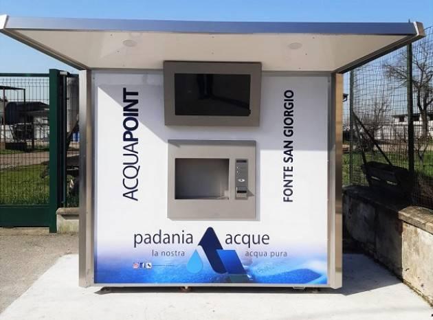 Padania Acque : Attiva 'Fonte San Giorgio', di Cumignano sul Naviglio.