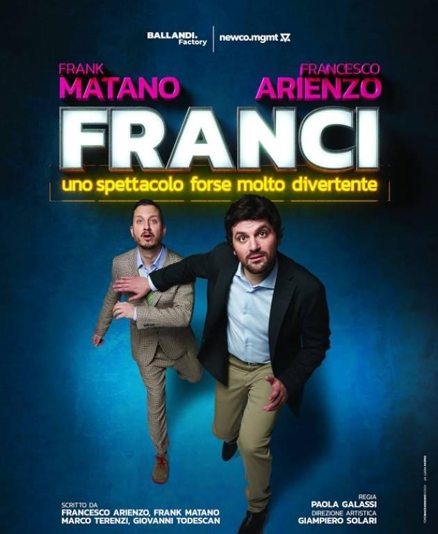 Teatro Ponchielli Cremona SPETTACOLO 'Franci' rinviato al 13 gennaio 2022