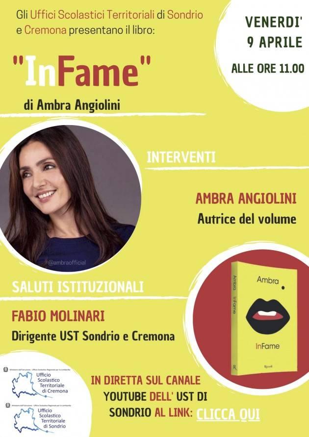 UST Cremona Ambra Angolini presenta il suo libro 'Infame' agli studenti