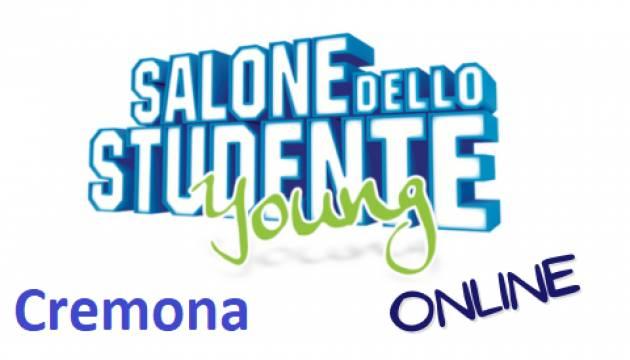 CREMONA DEBUTTA IL SALONE DELLO STUDENTE YOUNG  ONLINE 2021