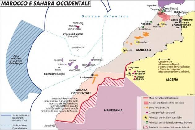 Sovranità del Marocco sul Sahara Pronti ad attivare l'articolo 227 del trattato UE |M.Baratto