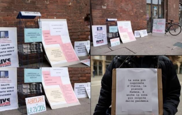 Cremona In piazza  per il diritto alla salute, per il diritto alla cura