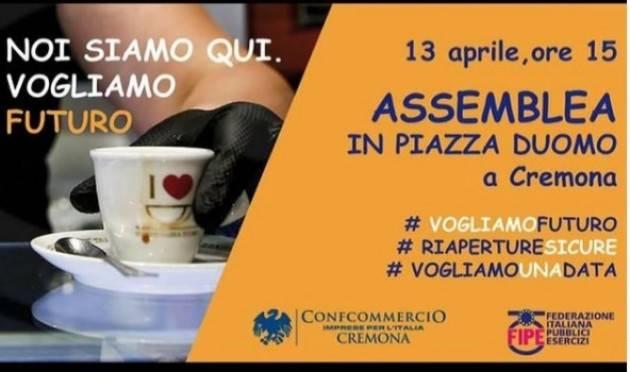 I Commercianti Cremonesi in piazza Duomo martedì 13 alle ore 15