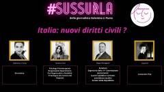 Intervista #Sussurla con David M, il Sen. M5S Romagnoli e la Dr.ssa Collu di FI
