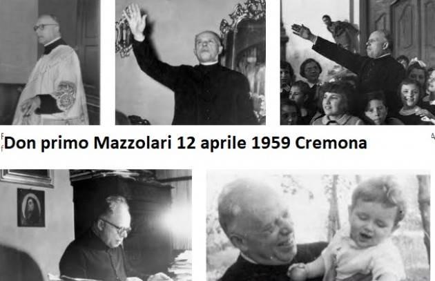 Accadde Oggi 12 aprile 1959 Muore Don Mazzolari