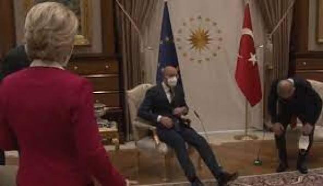 Italia – Turchia URGE UN CHIARIMENTO  di Agostino Spataro *