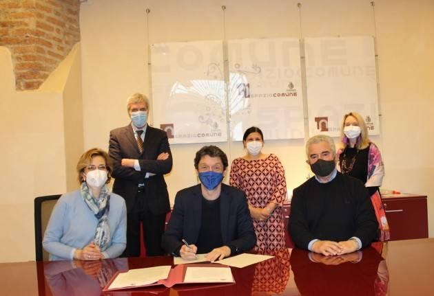 Siglato il Protocollo d'intesa tra il Comune di Cremona e AIDO
