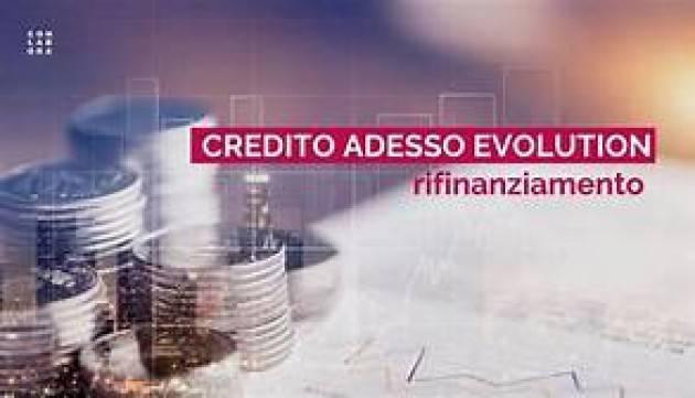 MISURA REGIONALE ''CREDITO ADESSO EVOLUTION'' ORA ANCHE PER IMPRESE DELLO SPORT