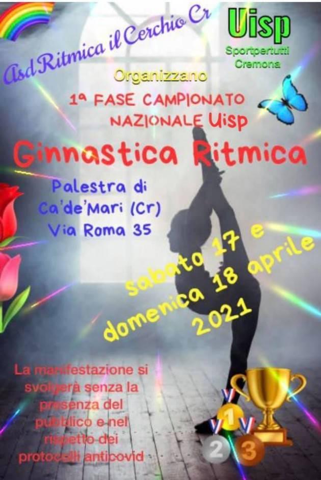 Uisp Ginnastica Ritmica a Gadesco Pieve Delmona