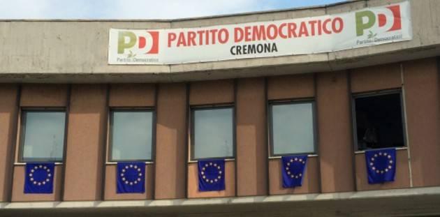 Le correnti nel PD non vanno bene , le idee diverse SI Giorgio Demicheli (CR)