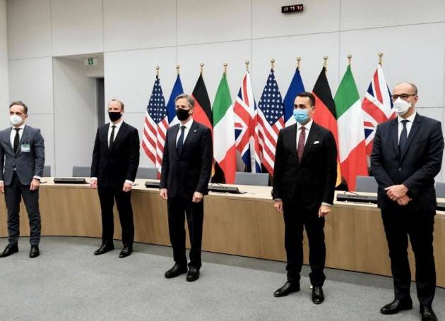 DI MAIO: LA NATO RITIRA LE TRUPPE DALL'AFGHANISTAN