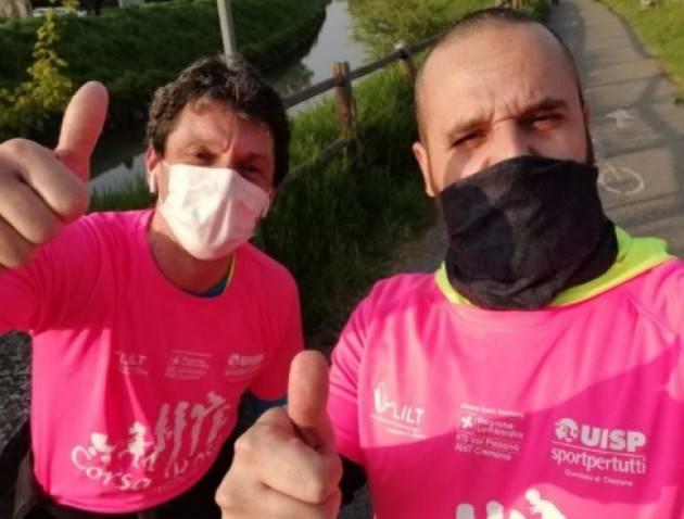 Galimberti e Zanacchi partecipano alla corsa rosa e ringraziano UISP Cremona