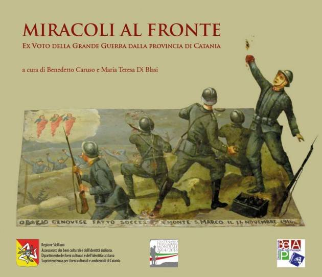Catania, BCsicilia presenta il volume: Miracoli al Fronte.....