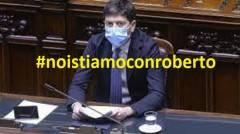 L'appello Noi stiamo con Roberto  #noistiamoconroberto