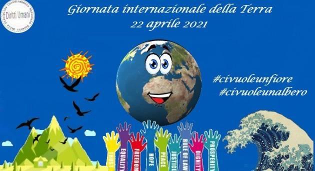 CNDDU Giornata internazionale della terra 22 aprile 2021: iniziative didattiche.