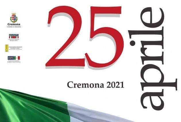 Cremona 76° Festa Liberazione 2021 Le riflessioni di G.Corada (ANPI) G.C.Storti