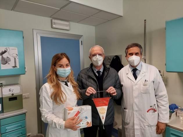 Asst Crema. Dal Rotary Crema uno spirometro per piccoli pazienti pediatria