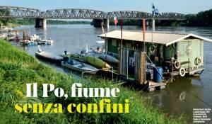 Casalmaggiore  Il PO ,fiume senza confine Un articolo della rivista Turing mese