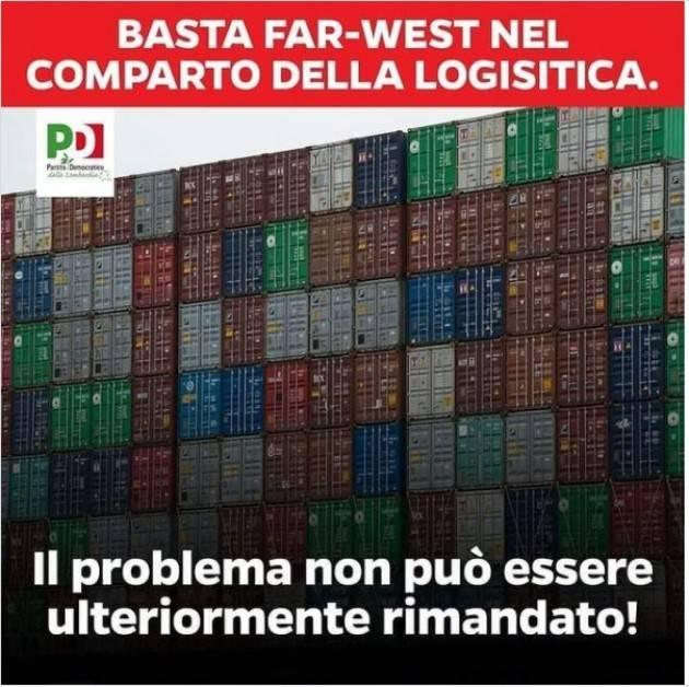 Logistica PD Lombardia Basta far-west Piloni impegnato sul tema