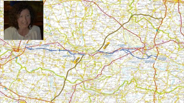Autostrada CR-MN -M.G. Bonfante ( Vescovato) scrive a C.Vezzini  (Stradivaria)