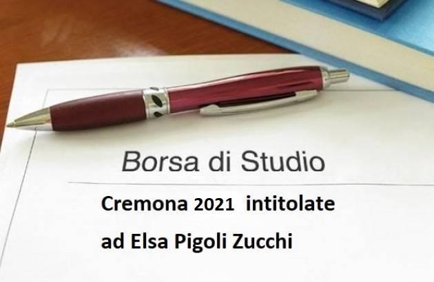 Cremona Aperto il bando per le borse di studio intitolate ad Elsa Pigoli Zucchi