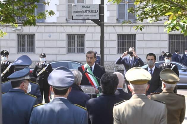 A Milano intitolata una piazza a Piersanti Mattarella