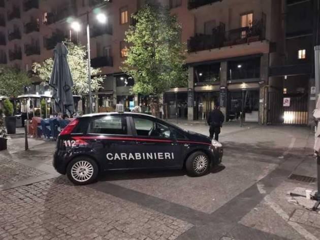 71 sanzionati a Milano dai carabinieri