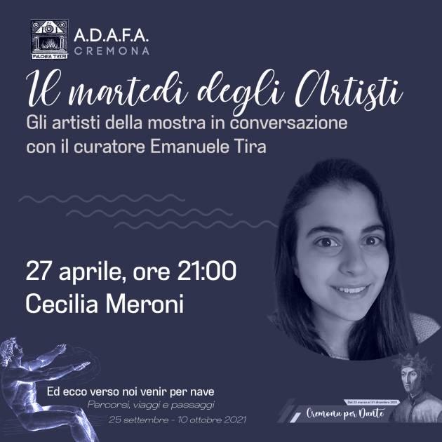 ADAFA  Cremona  Il Martedì  degli  Artisti