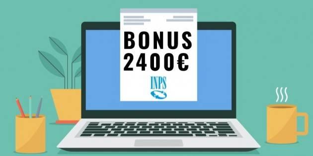 INPS CREMONA È ATTIVA LA PROCEDURA ON LINE PER LE NUOVE DOMANDE 'BONUS 2400 EURO'