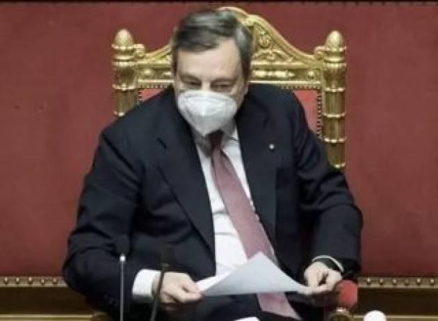 Con il Pnrr del Governo Draghi a rischio gli obiettivi su energia e clima