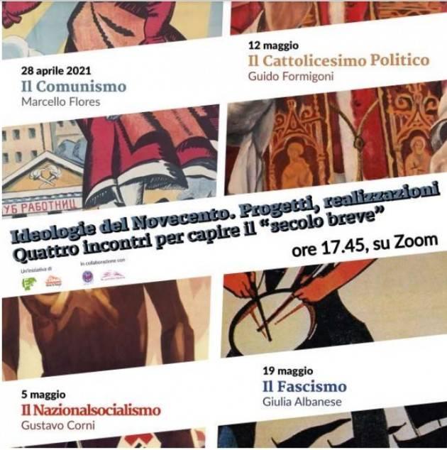 Cremona Ciclo di conferenze sulle ideologie del Novecento (on line)