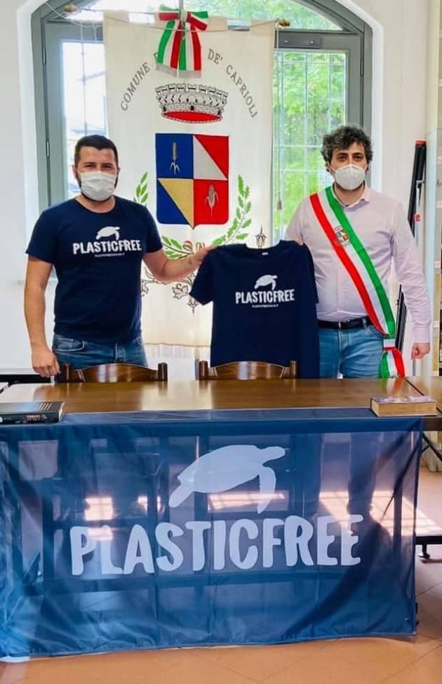 """""""Plastica? No grazie!"""" Il 13 giugno prossimo 'Plastic Free Onlus' arriverà a Gerre dè Caprioli"""