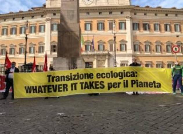 Per Greenpeace il Piano di Draghi è ''una mezza svolta verde''