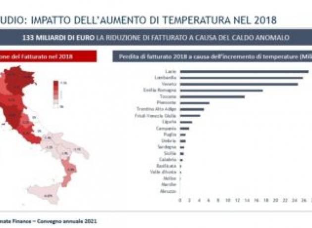 Il surriscaldamento del clima sta già costando centinaia di miliardi di euro alle imprese italiane