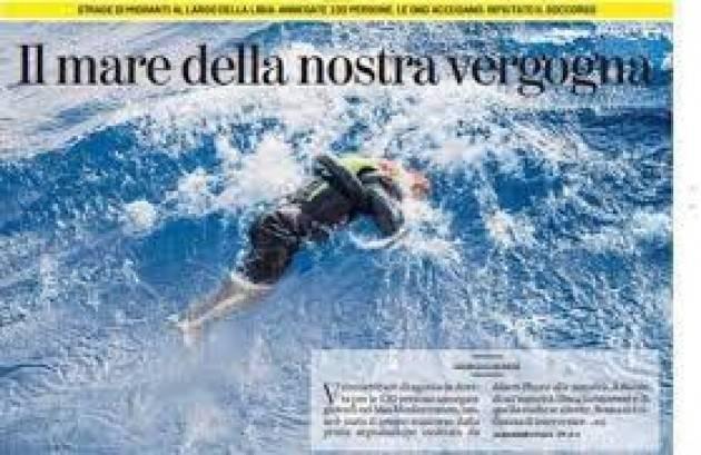 Cremona Pianeta Migranti. Grave rimpallo responsabilità per i130 naufraghi