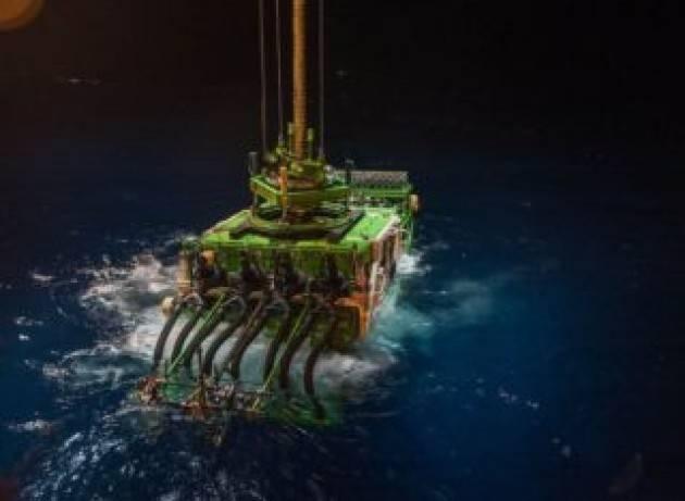 Incidente in fondo al mare: perso un robot minerario pesante 25 tonnellate