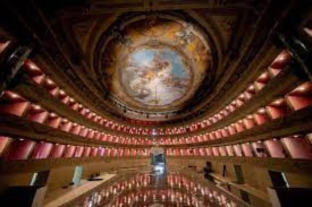 Teatro Donizetti Bergamo restaurato apre con un mese eventi