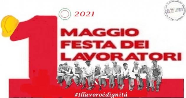 CNDDU Primo Maggio Festa dei lavoratori 2021