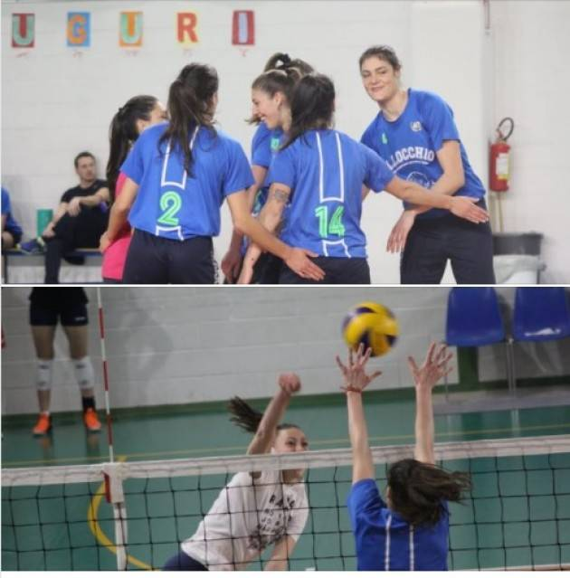 Volley  Csv-Rama Ostiano è matematicamente terza nel girone B2