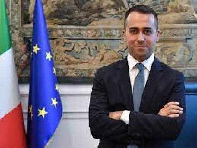 Il ministro Di Maio alla Ministeriale Esteri e Sviluppo G7