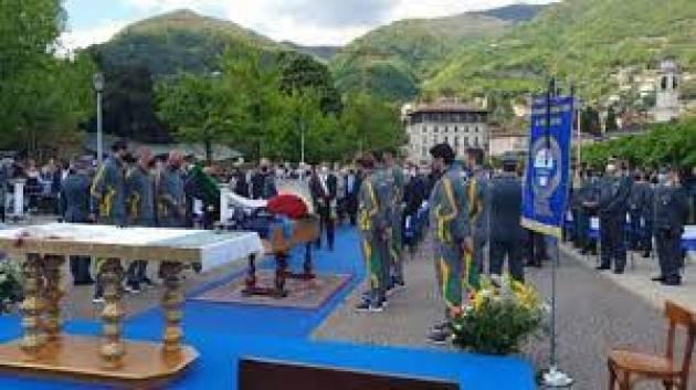 il commosso addio a Mondelli a Cernobbio