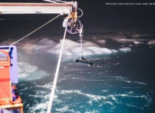 Bombe termiche sommerse distruggono il ghiaccio marino artico