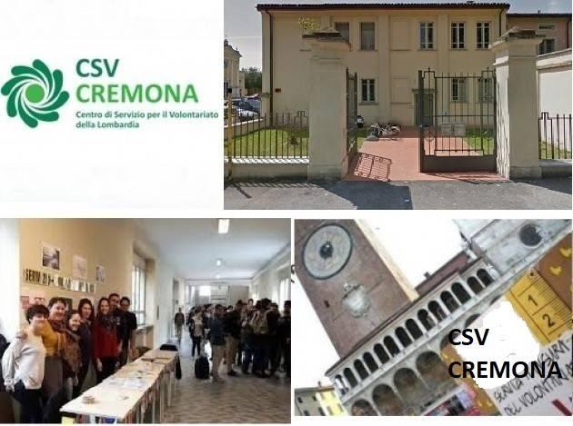 CSV Cremona Corso di formazione per enti non profit