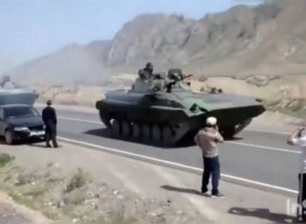 Acqua e droga, la guerra di confine tra Kirghizistan e Tagikistan