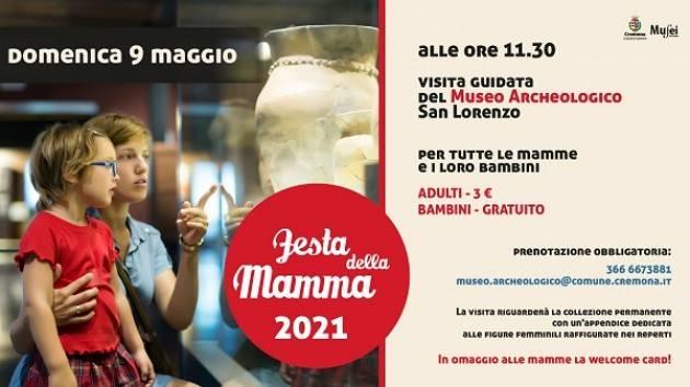 CR Festa mamma 2021: visita guidata Museo Archeologico per mamme e bambini