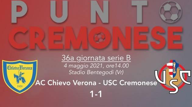 PUNTO CREMONESE: A Verona arriva il punto che vale la salvezza
