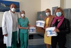ASST CR AMICI DELL'OSPEDALE, DONATE 3000 MASCHERINE FFP2 A TERAPIA INTENSIVA