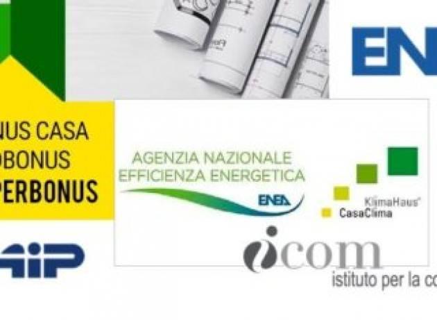 Nonostante il Superbonus 110%, nel 2020 in Italia non è cresciuta la qualità energetica degli immobili